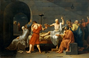 David's The Death of Socrates
