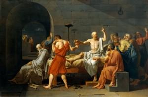 David's The Death of Socrates
