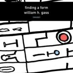 William H. Gass' Finding A Form